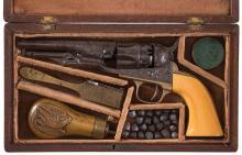 Cased Factory Engraved Metropolitan Police Revolver