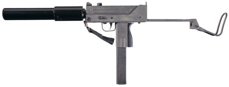 Military Armament Corp. Ingram M10 Sub-Machine Gun with MAC