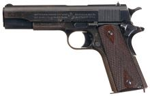 U.S. Colt 1911, Navy Shipped, w/Holster, Ex. Mags., Mag. Pouch