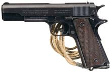 WWI U.S. Colt Model 1911 Semi-Automatic Pistol with Holster Rig