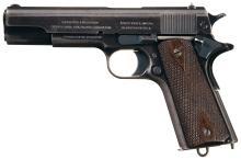 U.S. Colt 1911 Pistol w/Holster