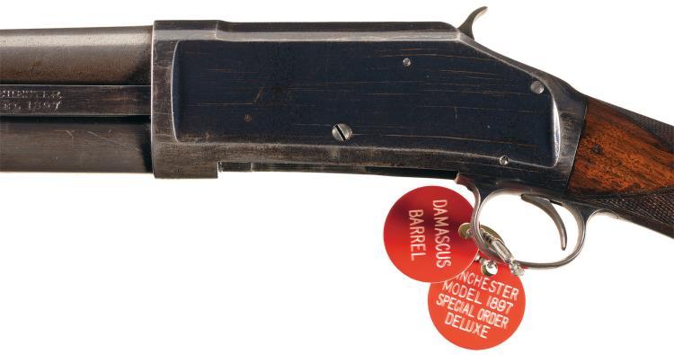 Winchester Deluxe Model 1897 Slide Action Shotgun