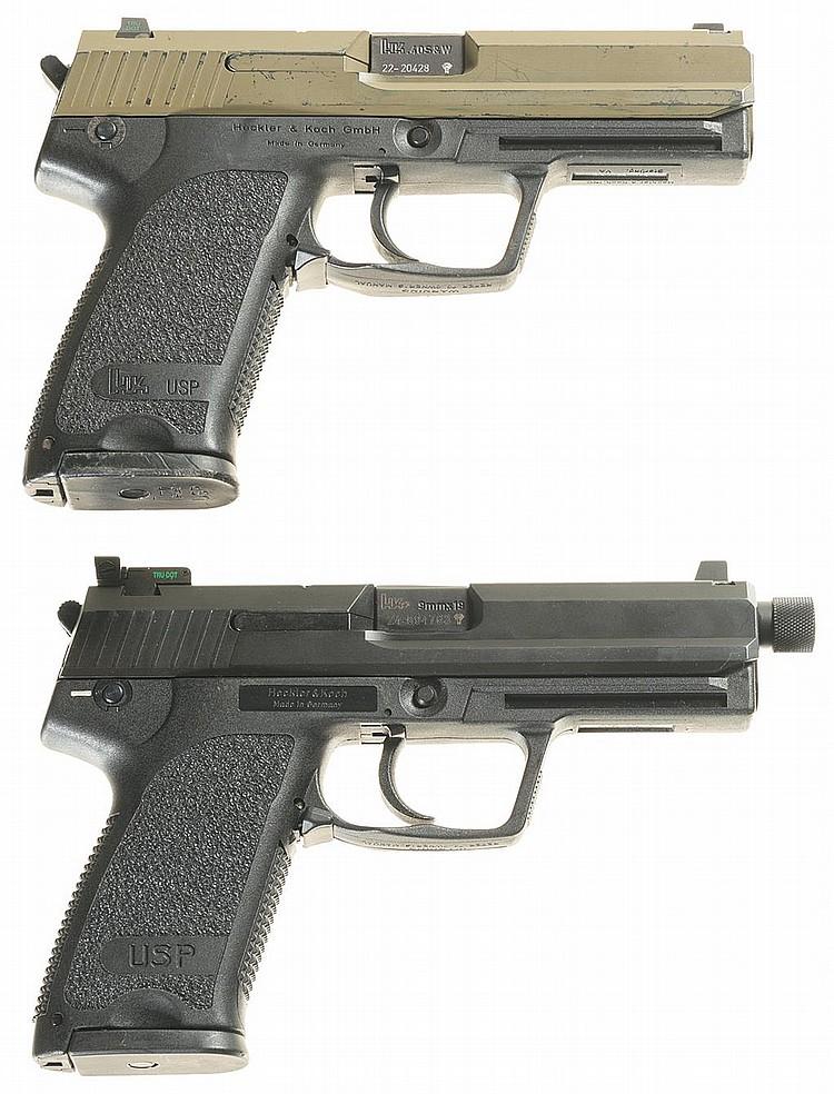 Heckler koch handgun