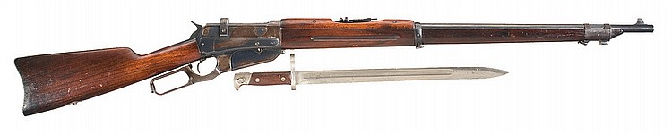 Winchester Model 1895 Russian Musket with Bayonet