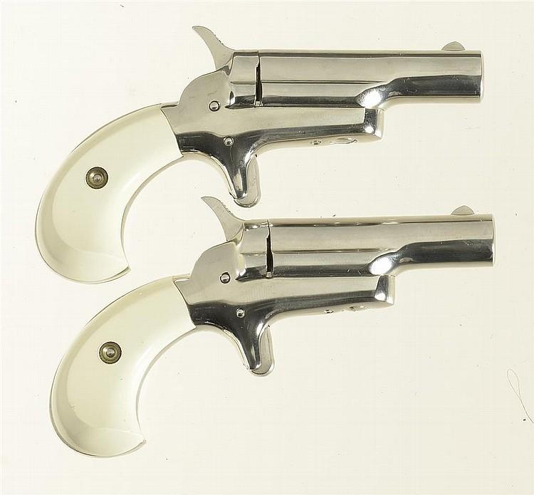 Two Colt Derringer Pistols -A) Colt Fourth Model Derringer