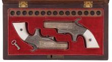 Factory Engraved Brown Southerner Deringer