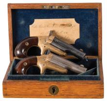 Engraved Colt Third Model Derringers