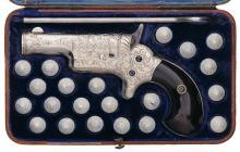 Helfricht Engraved Colt Third Model Derringer