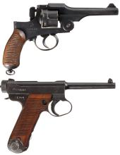Collector's Lot of Two Japanese Hand Guns