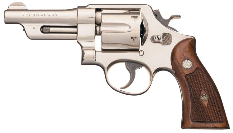 Austin Police S W Model 21 2 Double Action Revolver