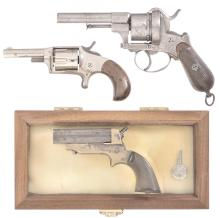 Three Antique Hand Guns