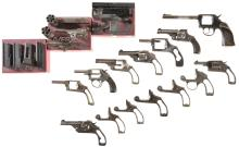 Fourteen Handgun Frames