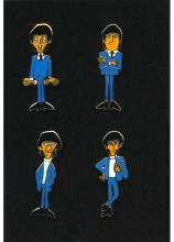 Beatles - 25th Anniversary Collector Pin Set