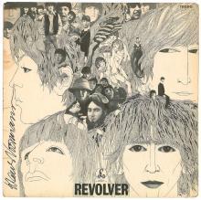 Beatles - Klaus Voormann - Autographed Revolver Album