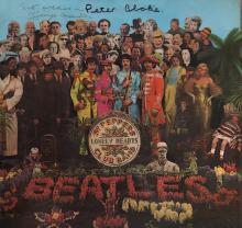 Beatles - George Martin - Peter Blake - Autographed Sgt. Pepper's Lonely Hearts Club Band Album
