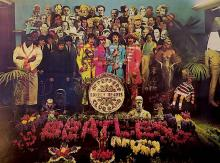 Beatles - Sgt. Pepper's Lonely Hearts Club Band - Uncropped & Unedited Lithograph Poster