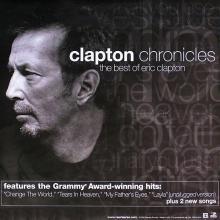 Eric Clapton - Clapton Chronicles - 1999 Promotional Poster