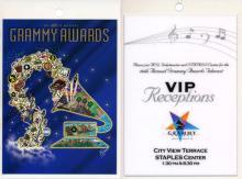 Grammy Awards - 2004 Laminate Backstage Passes