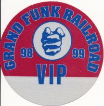 Grand Funk Railroad - North America Tour - 1998 Backstage Pass
