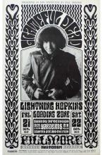 Grateful Dead - The Yardbirds - Fillmore - BG 32 - 1966 Concert Handbill
