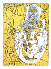 Grateful Dead - The Doors - 1967 Jim Salzer Concert Poster
