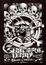 Grateful Dead - Blue Cheer - Rick Griffin - 1968 Shrine Concert Poster