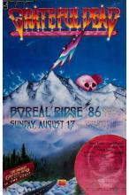 Grateful Dead - Summit Conference II - 1986 Concert Poster