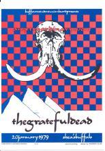 Grateful Dead - Concert Postcard