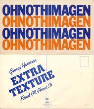 George Harrison - OHNOTHIMAGEN - Apple Records - 1975 Promotional Postcard