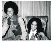 La Toya Jackson - Michael Jackson - Unpublished Silver Gelatin Photographic Prints
