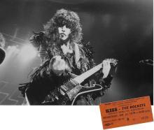KISS - Alive II Tour - 1978 Concert Ticket