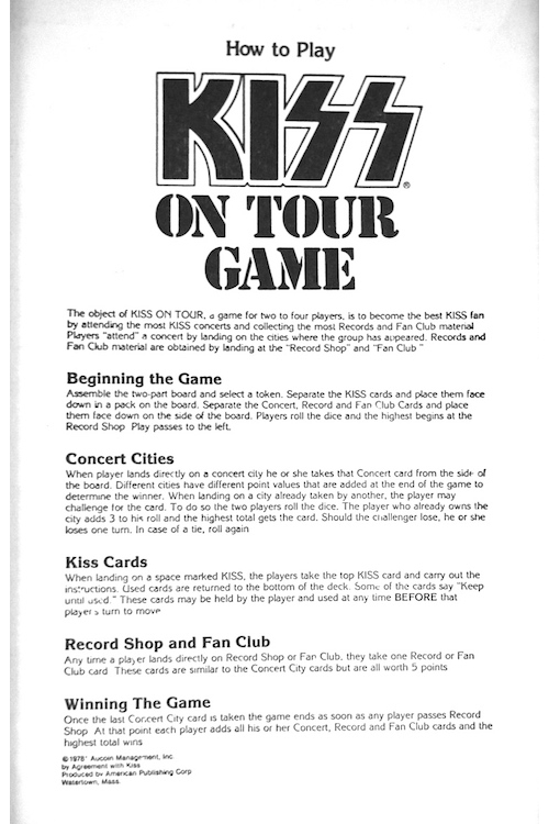 an overview of a tour by kiss an american band Unlike most editing & proofreading services, we edit for everything: grammar, spelling, punctuation, idea flow, sentence structure, & more get started now.