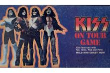 KISS - KISS On Tour - 1987 Board Game by Aucoin