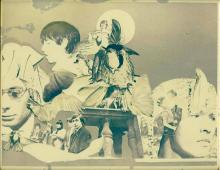The Rolling Stones - Collage Art Print