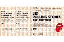 The Rolling Stones - Tour of Europe '76 - Concert Ticket