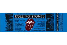 The Rolling Stones - American Tour - 1981 Concert Ticket