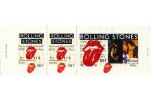 The Rolling Stones - European Tour - 1982 Concert Ticket