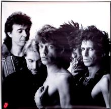 The Rolling Stones - Dirty Work - 1986 Promotional Poster