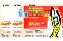 The Rolling Stones - Voodoo Lounge World Tour - 1995 Concert Ticket
