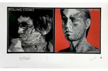 The Rolling Stones - Tattoo You - Limited Edition Signed Lithograph