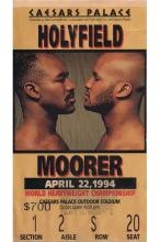 Evander Holyfield vs Michael Moorer - 1994 Heavyweight Championship Fight Ticket