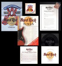 Hard Rock Cafe - London - John Lennon - 20th Anniversary Packet
