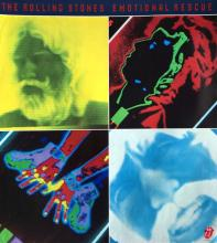 The Rolling Stones - Emotional Rescue - 1980 Promotional Poster
