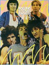 The Rolling Stones - European Tour - 1982 Concert Poster