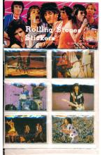The Rolling Stones - 1983 Photo Sticker Set