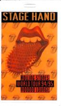 The Rolling Stones - Voodoo Lounge World Tour - 1994 Laminate Backstage Pass