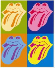 The Rolling Stones - Limited Edition Pop Art Print