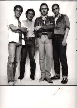 The Who - Live Aid - 1985 Autographed Silver Gelatin Photographic Print