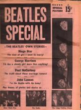 Beatles - 1964 Beatles Newspaper Magazine