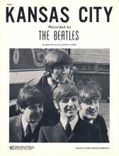 Beatles - Kansas City - Sheet Music